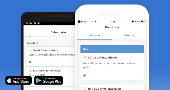 Nueva app móvil TrainerPlan - Entrena online aun más facil